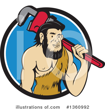 Plumber Clipart #1360992 by patrimonio