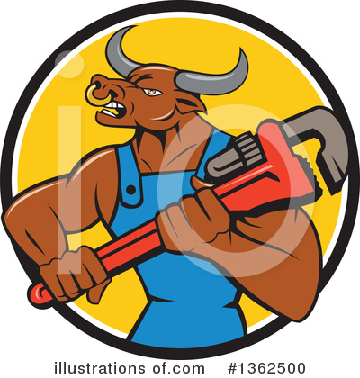 Plumber Clipart #1362500 by patrimonio