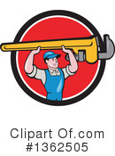 Plumber Clipart #1362505 by patrimonio