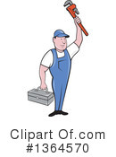 Plumber Clipart #1364570 by patrimonio