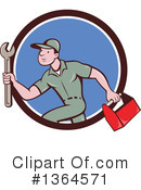 Plumber Clipart #1364571 by patrimonio