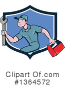 Plumber Clipart #1364572 by patrimonio