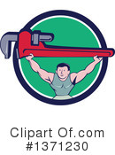 Plumber Clipart #1371230 by patrimonio