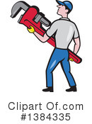 Plumber Clipart #1384335 by patrimonio