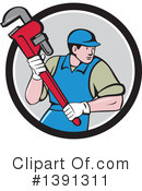 Plumber Clipart #1391311 by patrimonio