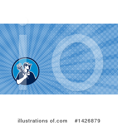Business Card Clipart #1426879 by patrimonio