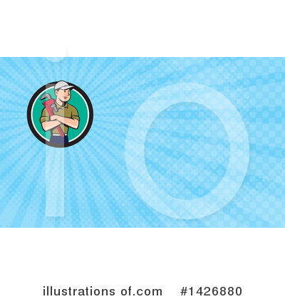 Business Card Design Clipart #1426880 by patrimonio