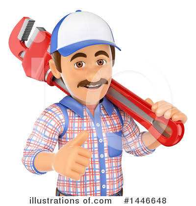 Worker Clipart #1446648 by Texelart