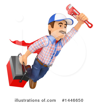 Worker Clipart #1446650 by Texelart