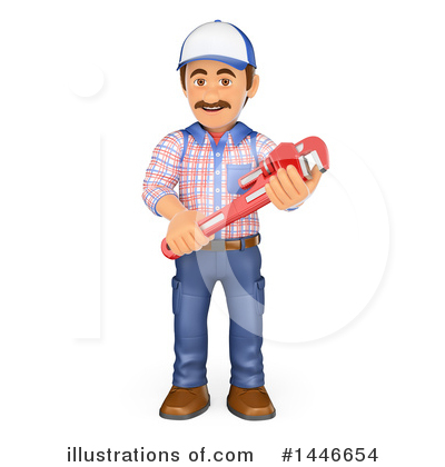 Worker Clipart #1446654 by Texelart