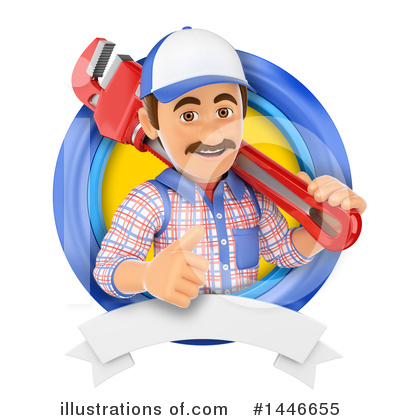 Worker Clipart #1446655 by Texelart