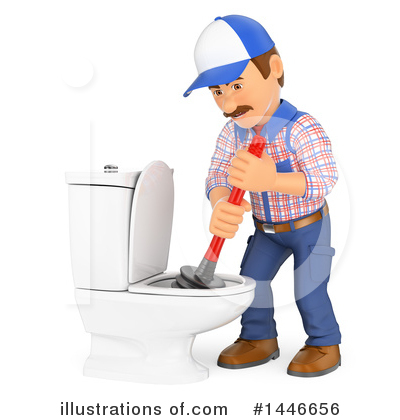 Worker Clipart #1446656 by Texelart