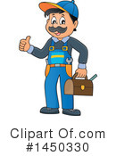 Plumber Clipart #1450330 by visekart