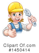 Plumber Clipart #1450414 by AtStockIllustration