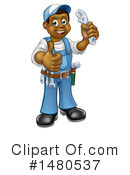 Plumber Clipart #1480537 by AtStockIllustration