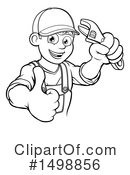 Plumber Clipart #1498856 by AtStockIllustration