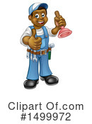 Plumber Clipart #1499972 by AtStockIllustration