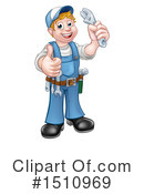 Plumber Clipart #1510969 by AtStockIllustration