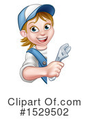 Plumber Clipart #1529502 by AtStockIllustration