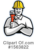Plumber Clipart #1563822 by patrimonio