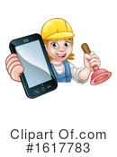 Plumber Clipart #1617783 by AtStockIllustration