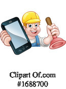 Plumber Clipart #1688700 by AtStockIllustration
