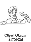 Plumber Clipart #1704926 by AtStockIllustration