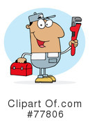 Plumber Clipart #77806 by Hit Toon