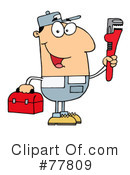 Plumber Clipart #77809 by Hit Toon