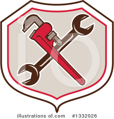 Plumber Clipart #1332026 by patrimonio