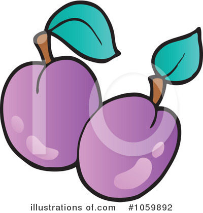 Produce Clipart #1059892 by visekart