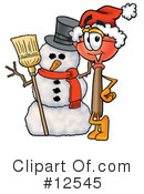 Plunger Character Clipart #12545
