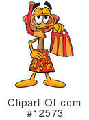 Royalty-Free (RF) plunger character Clipart Illustration #12573