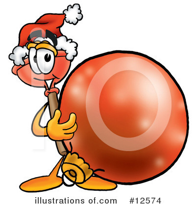 Plunger Character Clipart #12574 by Toons4Biz