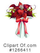 Royalty-Free (RF) Poinsettia Clipart Illustration #1266411