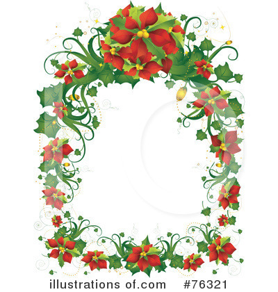 Royalty-Free (RF) Poinsettia Clipart Illustration by BNP Design Studio ...