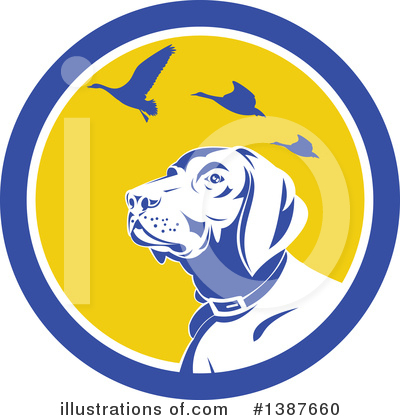 Dog Clipart #1387660 by patrimonio