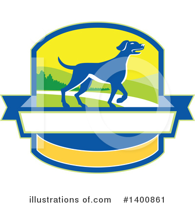 Pointer Dog Clipart #1400861 by patrimonio