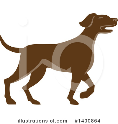Pointer Dog Clipart #1400864 by patrimonio
