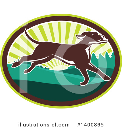 Dog Clipart #1400865 by patrimonio