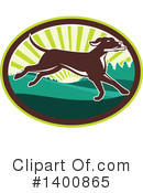 Pointer Dog Clipart #1400865 by patrimonio