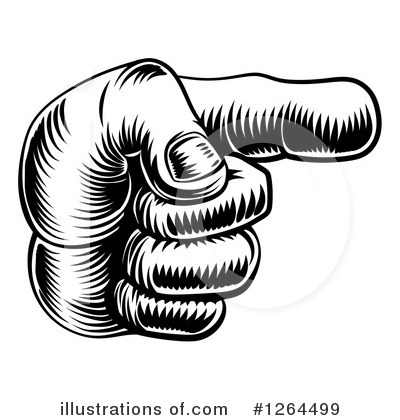 Hand Clipart #1264499 by AtStockIllustration