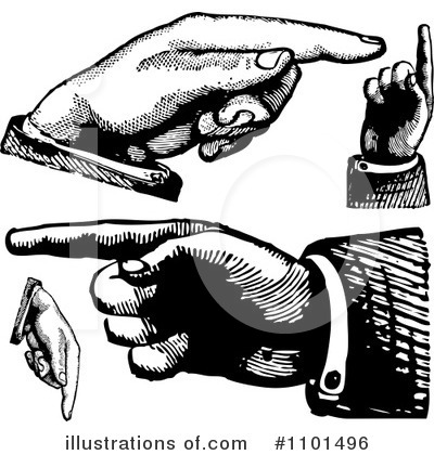 Pointing Clipart #1101496 by BestVector