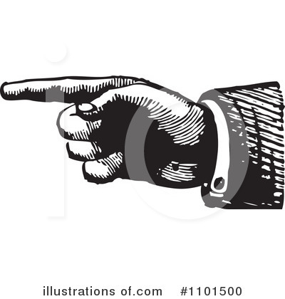 Pointing Clipart #1101500 by BestVector