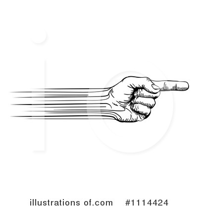 Pointing Clipart #1114424 by AtStockIllustration