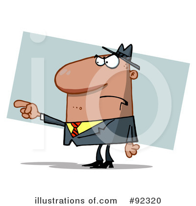 Boss Clipart #92320 by Hit Toon
