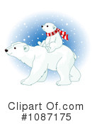 Royalty-Free (RF) Polar Bear Clipart Illustration #1087175