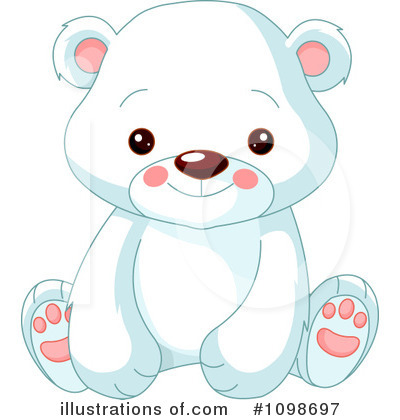 Polar Bear Clipart #1098697 by Pushkin
