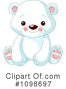 Royalty-Free (RF) Polar Bear Clipart Illustration #1098697