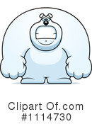 Royalty-Free (RF) polar bear Clipart Illustration #1114730